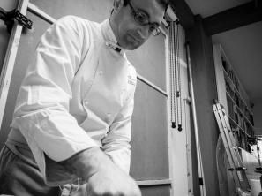 """Lo Chef Francesco Paldera al alvoro nel nostro studio per realizzare un servizio di """"Food"""""""