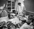 """Lo Chef Francesco Paldera al al lavoro nel nostro studio per realizzare un servizio di """"Food"""""""