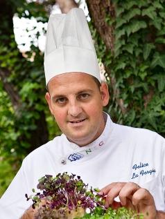 Lo Chef Felice Laforgia (Villa Romanazzi Carducci)