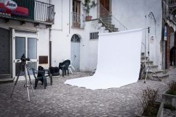 Backstage delle riprese del 17 gennaio 2014 a Ticarico (MT)
