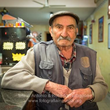 """Aliano (MT) , 04 marzo 2014 (martedì grasso). Il Signor Pasquale (per tutti """"Zio Pasquale"""") ci racconta della sua infanzia e del suo ricordo di Carlo Levi."""