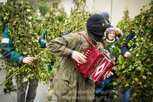 Satriano di Lucania (PZ), sabato 1 marzo; l'arrivo dei Romiti in Paese