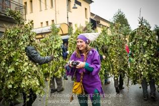 Satriano di Lucania (PZ), sabato 1 marzo; la sfilata dei Romiti in Paese