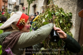 Satriano di Lucania (PZ), sabato 1 marzo; rifornimento di un Romita
