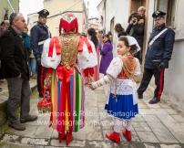 """La Via Crucis per le strade del centro storico di Barile (PZ): il personaggio della """"Zingara"""""""