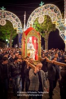 Viggiano (PZ), maggio 2014, celebrazioni per la Festa della Madonna Nera; il sabato sera