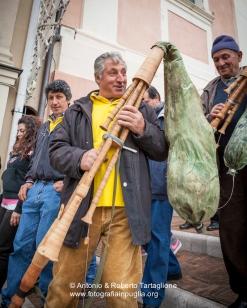 Viggiano (PZ), maggio 2014, celebrazioni per la Festa della Madonna Nera; la mattina della domenica