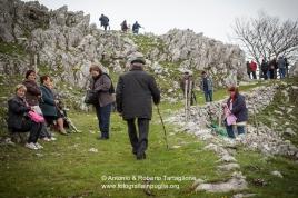 Viggiano (PZ), maggio 2014, celebrazioni per la Festa della Madonna Nera; l'attesa sul piano di Bonocore