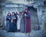 Matera (MT), prove per la rappresentazione del Presepe Vivente del Natale 2013
