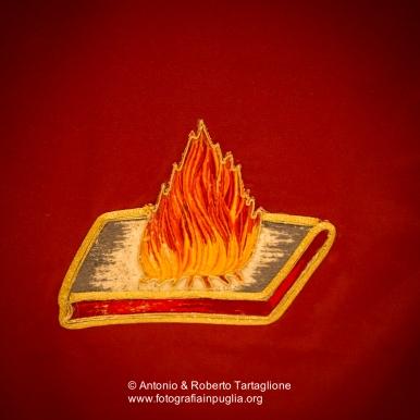 Il fuoco di Sant'Antonio (addobbo della Chiesa di Sant'Antonio Abate a Novoli (LE)