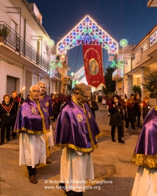 La processione in onore di Sant'Antonio Abate a Nòvoli (LE)