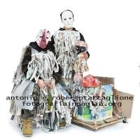 Montescaglioso (MT) 17 febbraio 2015; Una maschera della sfilata del martedì grasso