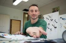 Massimo Gianfrate, Brand Manager della I.CO.MAN 2000, proprietaria del marchio Berwich. (Martina Franca TA)