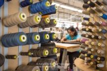 Al lavoro presso la I.CO.MAN 2000, proprietaria del marchio Berwich. (Martina Franca TA)