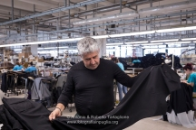 Michele Fumarola, fondatore della I.CO.MAN 2000, proprietaria del marchio Berwich. (Martina Franca TA)