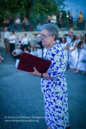 Annamaria Bianchi che ha coordinato la rappresentazione