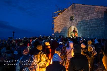 L'uscita della statua della Madonna Nera