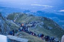 La processione che scende dal Sacromonte all'alba dellla domenica 6 settembre. https://fotografiainpuglia.org/2015/09/07/il-ritorno-della-madonna-nera/