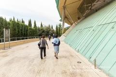 San Giovanni Rotondo (FG), veduta della Chiesa Commissionata dall'Ordine dei Frati Minori Cappuccini della provincia di Foggia e inaugurata nel 2004. (progetto Arch. Renzo Piano)