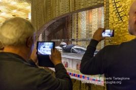 San Giovanni Rotondo (FG), interno della Chiesa Commissionata dall'Ordine dei Frati Minori Cappuccini della provincia di Foggia e inaugurata nel 2004. (progetto Arch. Renzo Piano)