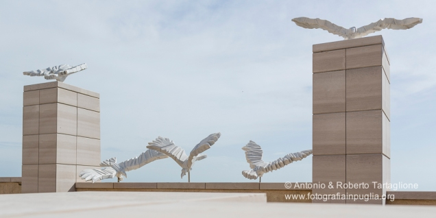San Giovanni Rotondo (FG), particolare della Chiesa Commissionata dall'Ordine dei Frati Minori Cappuccini della provincia di Foggia e inaugurata nel 2004. (progetto Arch. Renzo Piano)
