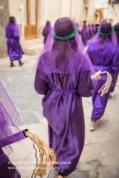 Canosa di Puglia (BT), Centro Storico, mattina del Sabato Santo, Processione della Desolata, anno 2014