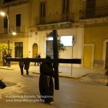 Noicattaro (BA), Centro Storico, sera del Giovedì Santo, Processione del Primo Crocifero, anno 2009