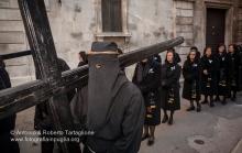 Noicattaro (BA), Centro Storico, pomeriggio del Sabato Santo, Processione dei Misteri, anno 2009