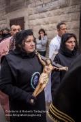 Ruvo di Puglia (BA), Centro Storico, pomeriggio del Sabato Santo, Processione della Pietà, anno 2013