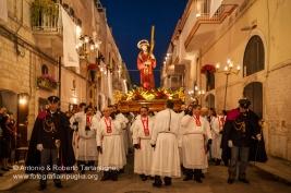 Ruvo di Puglia (BA), Centro Storico, pomeriggio del Venerdì Santo, Processione dei Misteri, anno 2009