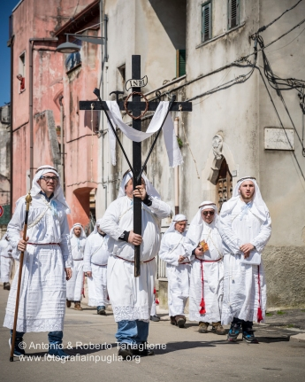 Vico del Gargano (FG), Processione del pomeriggio del Venerdì Santo detta l'Agonia. Anno 2016