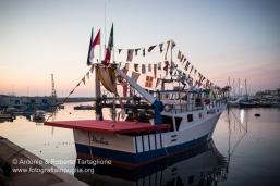 """Bari (BA) - Festa Patronale di San Nicola Il peschereccio """"Nicolaus"""""""