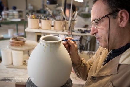 La mappatura del vaso per praticare poi la foratura manuale.