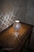 Una lampada prodotta da Francesco Fasano.