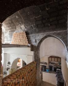 la bottega di Francesco Fasano, la vecchia stanza di cottura