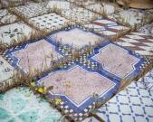 terrazzo della Bottega Vestita a Grottaglie