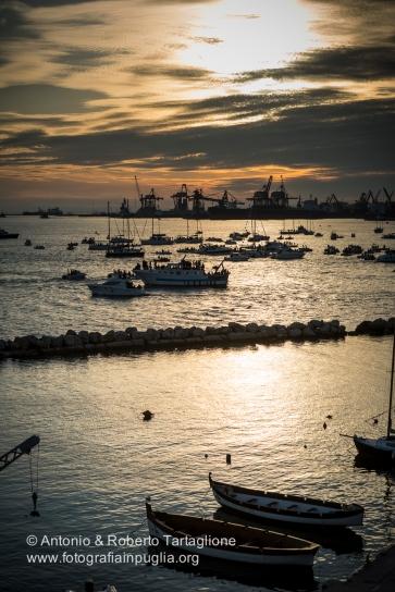 Taranto (TA) - Festa Patronale di San Cataldo -Tramonto sul porto di Taranto