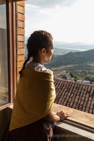 Sogno di una notte a... Quel Paese, stagione 2016, uno sguardo dalla finestra prima dello spettacolo.