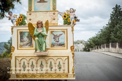 """Pomarico (MT) Il carro pronto per la rievocazione della """"Miracolo del Grano"""""""