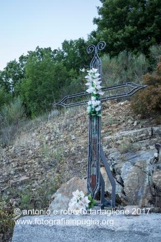 Lagonegro (PZ). Una croce di ferro segnala una svolta
