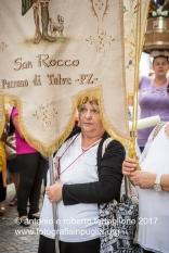 16 agosto 2016, Tolve (PZ), Festa di San Rocco, la processione