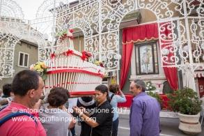 16 settembre 2016, Tolve (PZ), Festa di San Rocco, arrivo di pellegrini