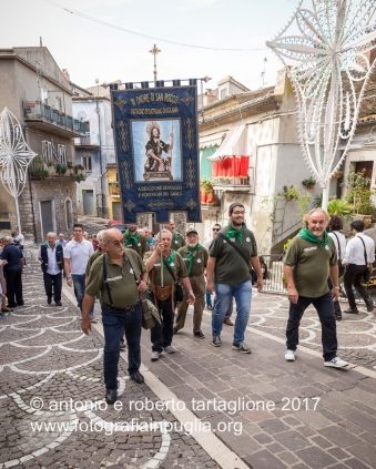 16 settembre 2016, Tolve (PZ), Festa di San Rocco, l'arrivo dei pellegrini da Satriano di Lucania (PZ)