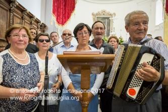 16 agosto 2016, Tolve (PZ), Festa di San Rocco, nella Chiesa Madre