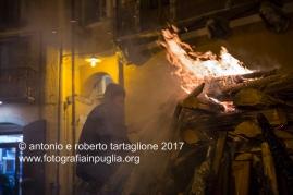 Pignola (PZ), accensione del Falò per la vigilia della festa di Sant'Antonio Abate