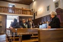 Rapone (PZ) nella Chiesa di Santa Maria ad Nives si attende il rientro della Processione della Candelora