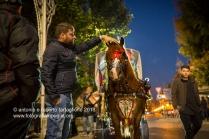 Francavilla Fontana (BR), musica e balli per strada in preparazione per la Festa dei Santi Medici