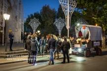 """Francavilla Fontana (BR), preparazione di un """"traino"""" o carretto per il pellegrinaggio verso il Santuario di San Cosimo alla Macchia per la Festa dei Santi Medici"""
