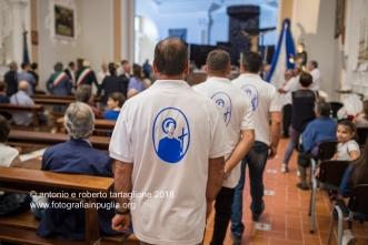 Muro Lucano (PZ) Preparazione della processione nella Concattedrale di San Nicola