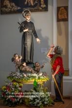 Muro Lucano (PZ) La statua di San Gerardo nell Concattedrale di San Nicola